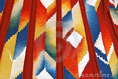 Colorful tapestry background