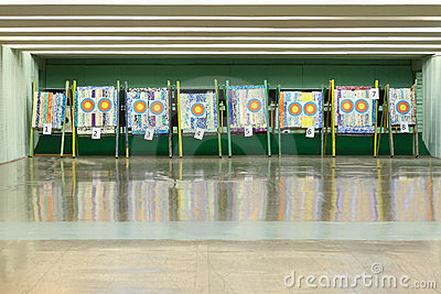 Colorful targets for archery
