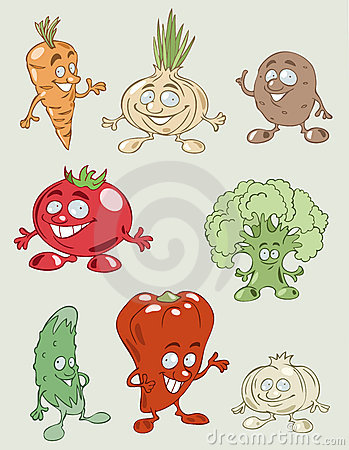Colorful and tasty vegetables