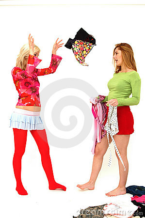 Colorful teenagers 1