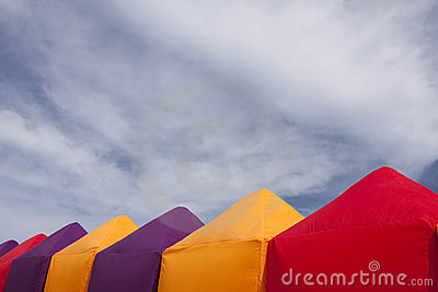 Colorful Tents Stock Photography - Image: 12902152