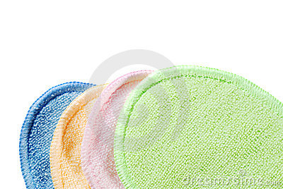 Colorful terry cloth