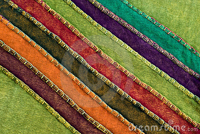 Colorful Textile Fabric Texture