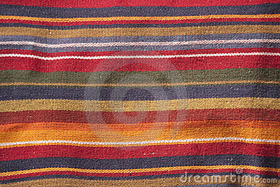 Colorful textile texture