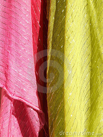 Colorful textiles abstract texture