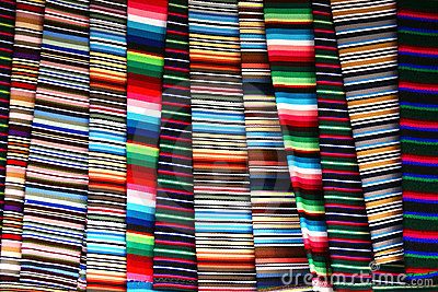 Colorful Tibetan cloth