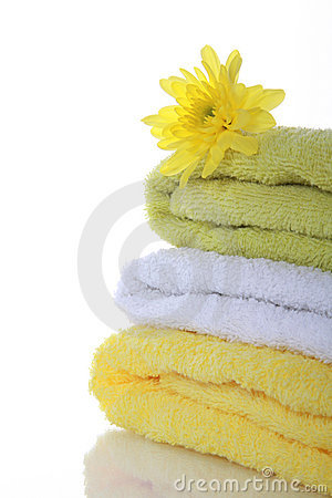 Colorful Towels Stock Image - Image: 13416361