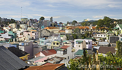Colorful Town of DaLat