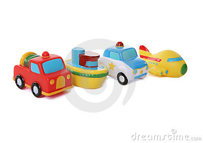 Colorful Toy Transportation