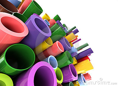 Colorful tubes