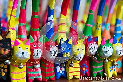 Colorful Turkish souvenirs