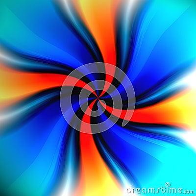 Colorful Twirl Vortex