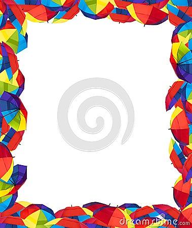 Umbrella Border Clip Art Images & Pictures - Becuo