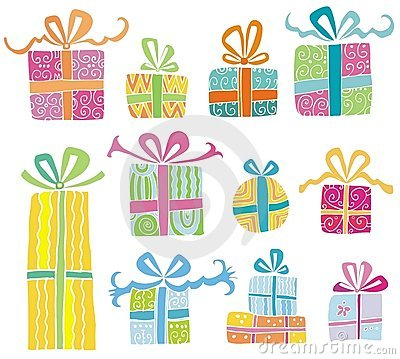 Free Colorful Vector Gift Boxes Royalty Free Stock Image - 8377006