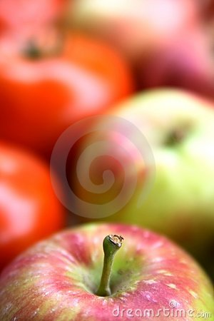 Colorful Vegetables and Fruit