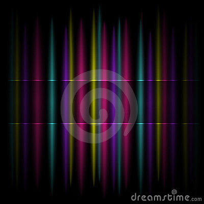 Colorful Vertical Striped Pattern Background