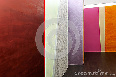 Colorful walls