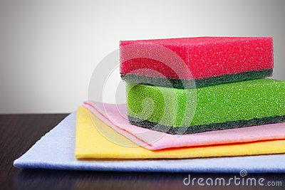 Colorful washing tools