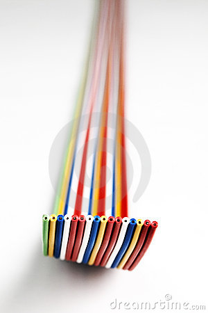 Colorful wire