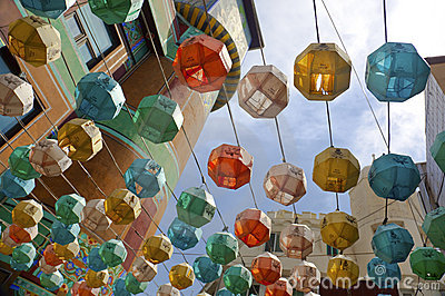 Colorfull  lanterns / Asia
