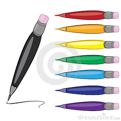 Colorfull pens