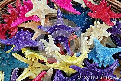 Colorfull Starfish Souvenirs