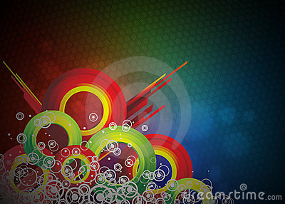 Colorfull vector background design.