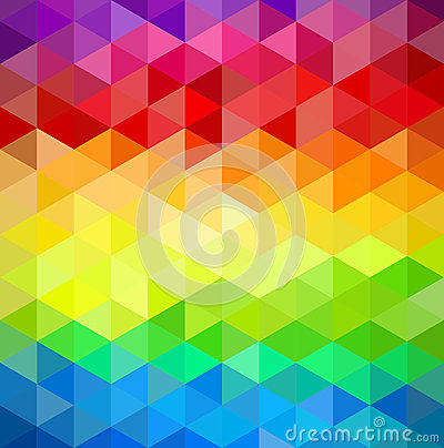 Free Colorfull Vintage Abstract Geometric Pattern. Royalty Free Stock Photography - 33271487