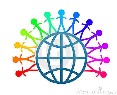 Colorfull World Peace Clip Art Royalty Free Stock Image - Image ...