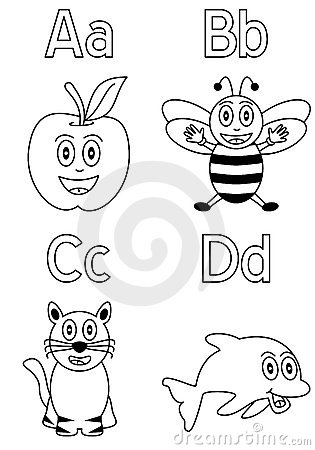 Coloring Alphabet for Kids [1]