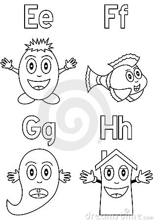 Coloring Alphabet for Kids [2]