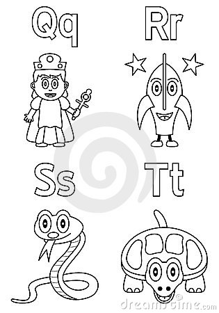 Coloring Alphabet for Kids [5]