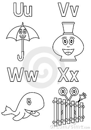 Coloring Alphabet for Kids [6]
