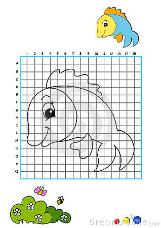 Coloring book 8 - fish
