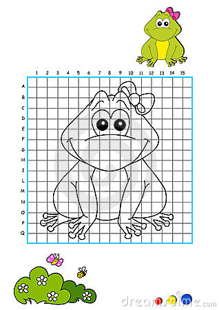 Coloring book 9 - frog