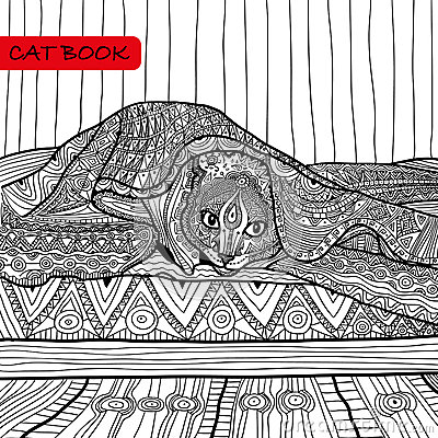 bed pattern coloring pages - photo#13