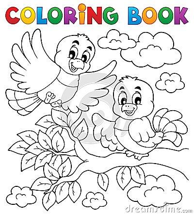 Free Coloring Book Bird Theme Stock Photography - 29179842