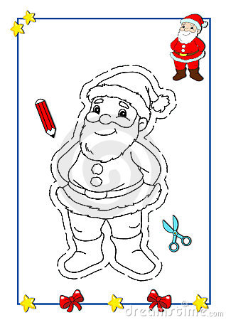 Coloring book of Christmas 1