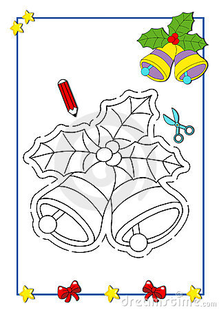 Coloring book of Christmas 5