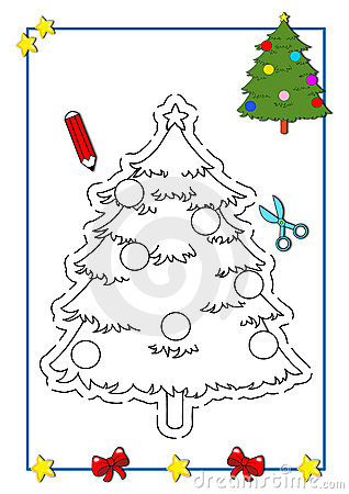 Coloring book of Christmas 9