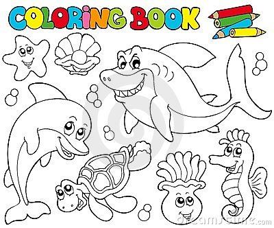 sanrio coloring pages. marine life coloring page euro