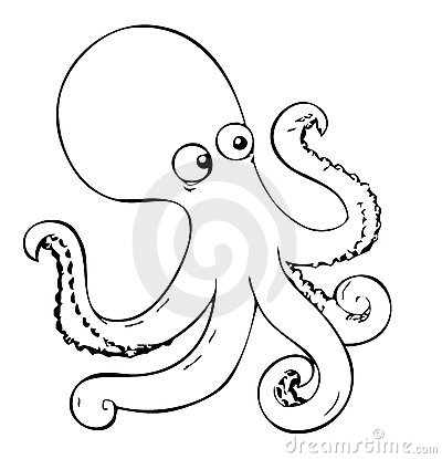 More Similar Stock Images Of Coloring Book Octopus
