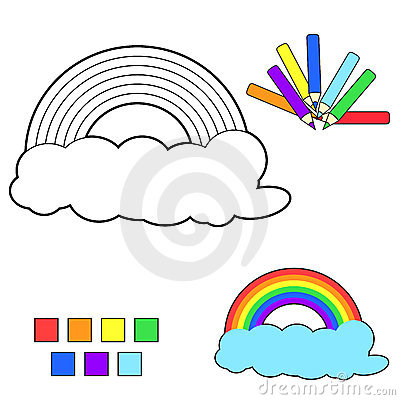 coloring book sketch rainbow stock photos image 19017953 submarine clipart gif submarine clip art images