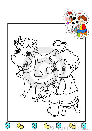 Coloring book of the works 12 - agriculturist
