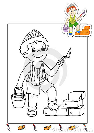 Coloring book of the works 9 - mason
