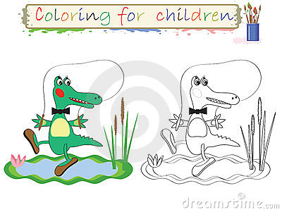 Coloring for children .