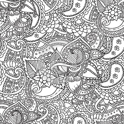 Free Coloring For Adults. Ethnic Statue, Sculpture,doll With Patterns. Print On T-shirt , Tattoo.doodle, Zentage,  Style. Royalty Free Stock Images - 68858529