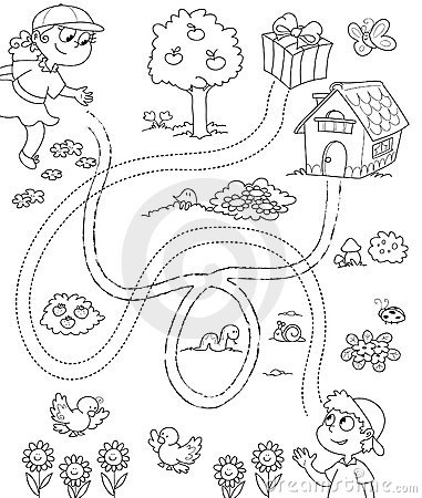 Free Coloring Game For Children Royalty Free Stock Images - 14849379