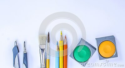 Coloring Materials Free Public Domain Cc0 Image