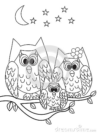 Owl Always Love You Coloring Page